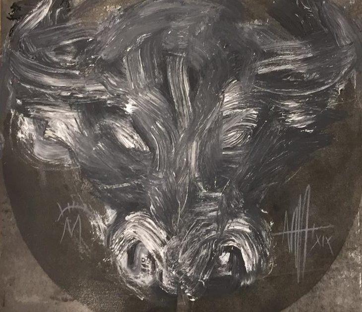 Painting Toro II 2019 by Marc Prat